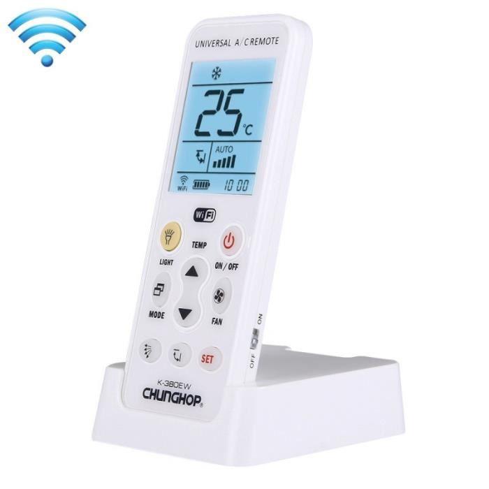 Piece Detachee Genie Thermique - Piece Detachee Climatisation - Télécommande Wifi Universel avec Support, Soutien 2G / 3G / 4G /