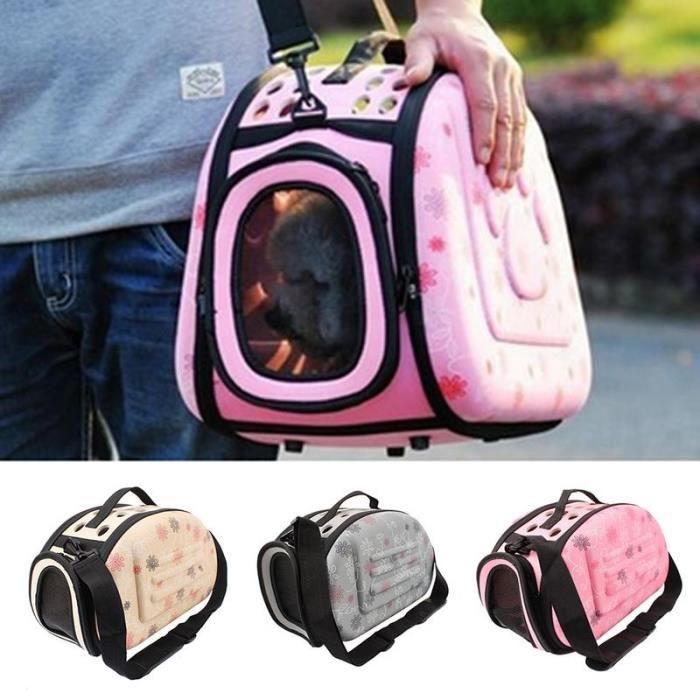 Sac de voyage pour chien de compagnie Sac à main Portable sortant pour petits chiens sac de transport sac à dos pliable pour chat