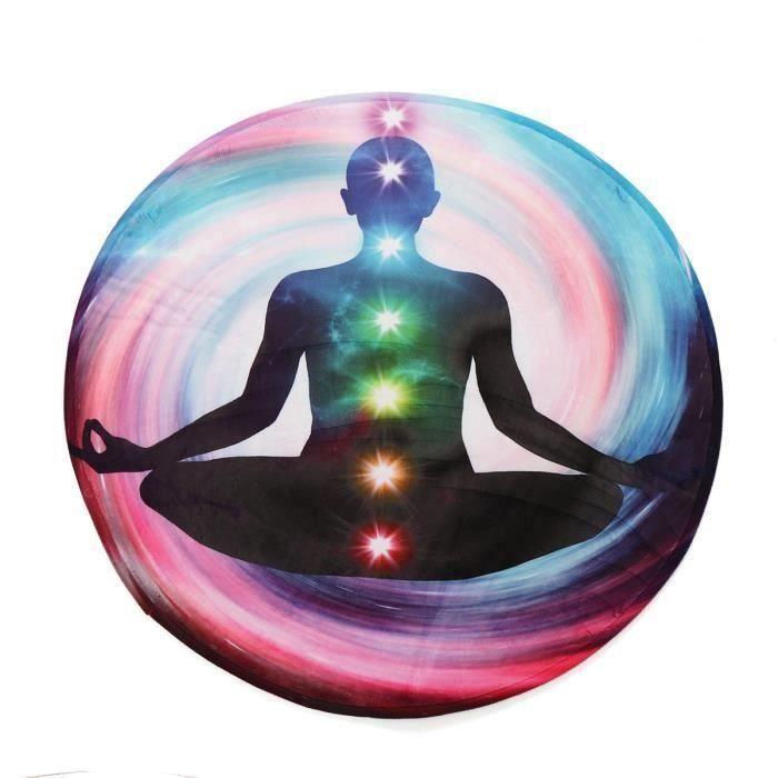 Tapis De Sol Rond Tapis De Yoga Salon Table 100X100CM TYPE A So57870