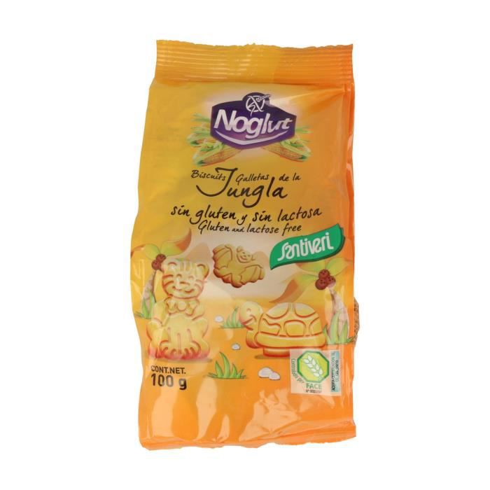 Santiveri+Biscuits Jungle (Sans Gluten) 100 g