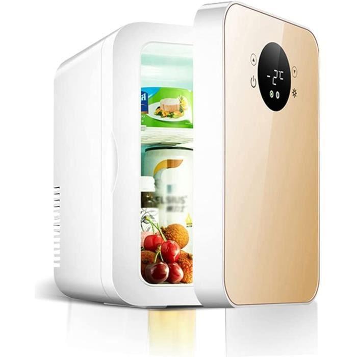 Mini Frigo Chambre 8 Litres Minibar Silencieux Refroidisseur Et Rchauffeur Thermolectrique Compact Pour Les Soins De La Peau [3680]