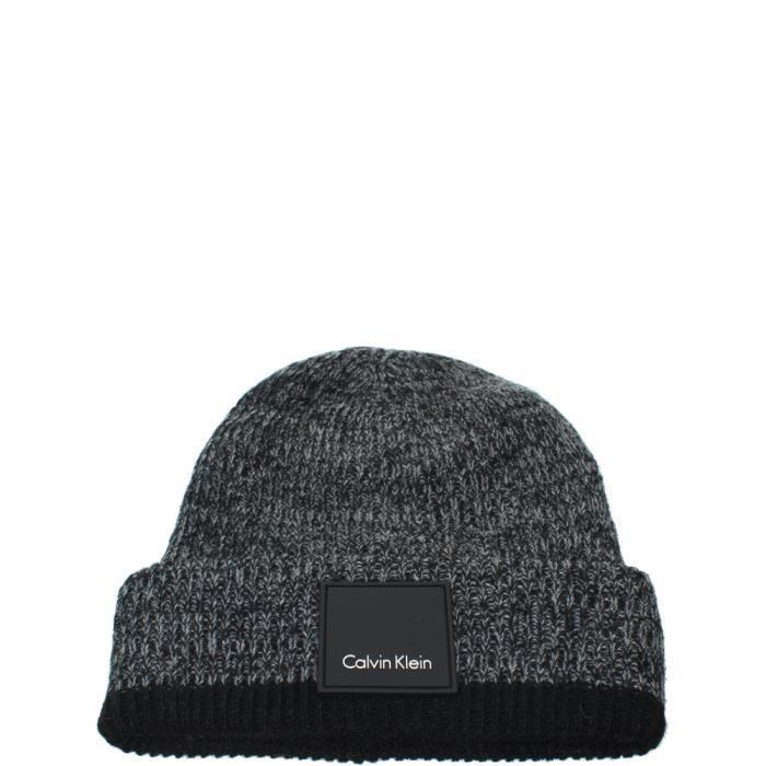 Bonnet Calvin Klein ref_cem42467-noir-acier NOIR