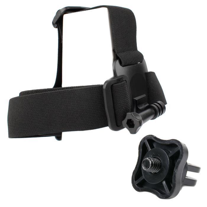 Harnais de fixation frontale pour tête-casque pour VTech Kidizoom Action Cam 180 caméra enfant 507005 - Par DURAGADGET