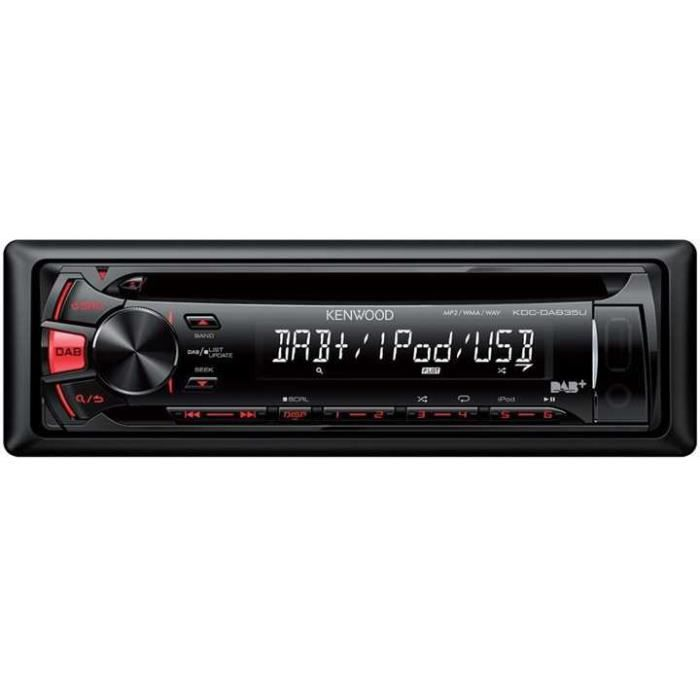 Kenwood KDC-DAB35U CD/DAB/FRONT-USB/ FRONT-AUX-IN