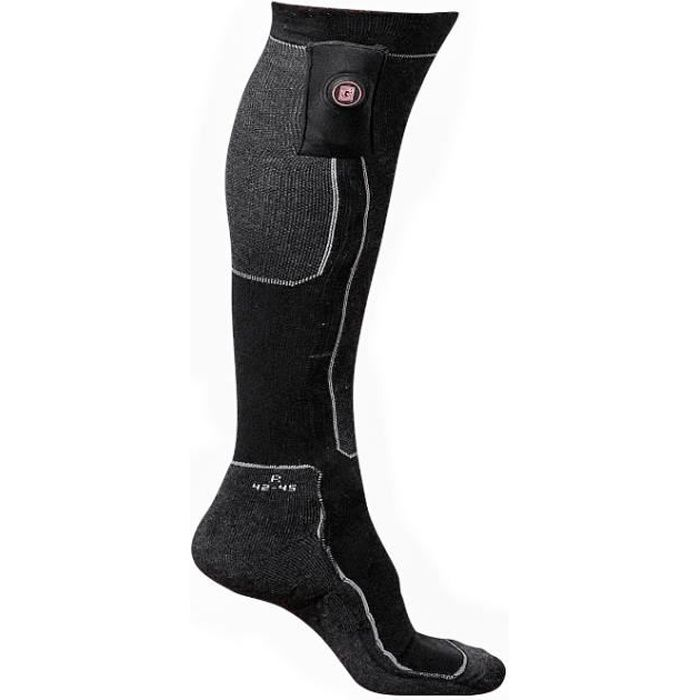 G-HEAT - Chaussettes chauffantes confort - 1 paire de batteries - Mixte