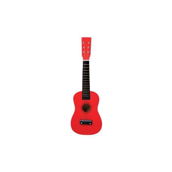 Guitare rouge - Jeux premier âge - Jeux d'éveil - Jouets musicaux