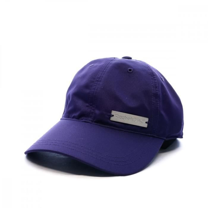 Casquette violette femme Reebok W FOUND CAP