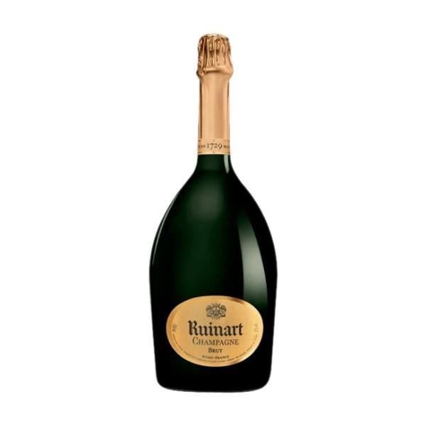 Lot de 12 Champagne Ruinart Brut 150 cl