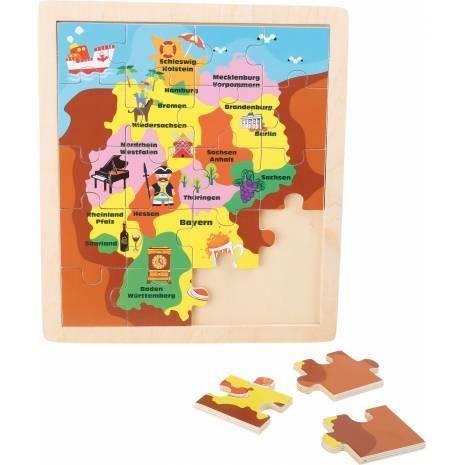 Puzzle en cadre Allemagne