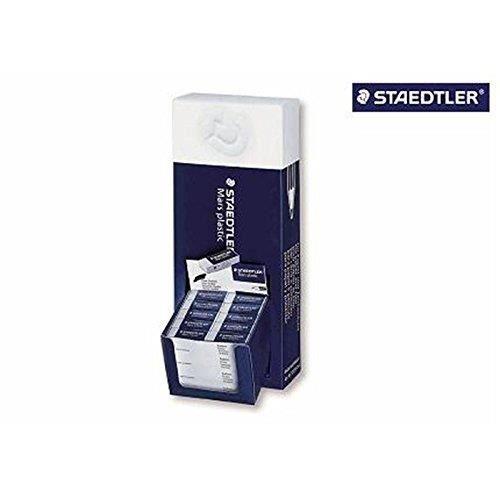 Mars® plastic 526 50 - Présentoir 80 gommes blanches sans latex