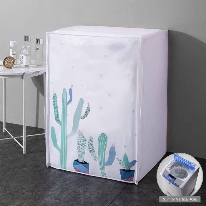 type-A-3 -Lave linge à rouleau entièrement automatique, protection solaire, sèche linge étanche, housse de Machine à laver en Polyes