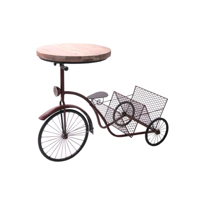 table porte journaux velo tricycle achat vente porte revue table porte journaux velo t. Black Bedroom Furniture Sets. Home Design Ideas