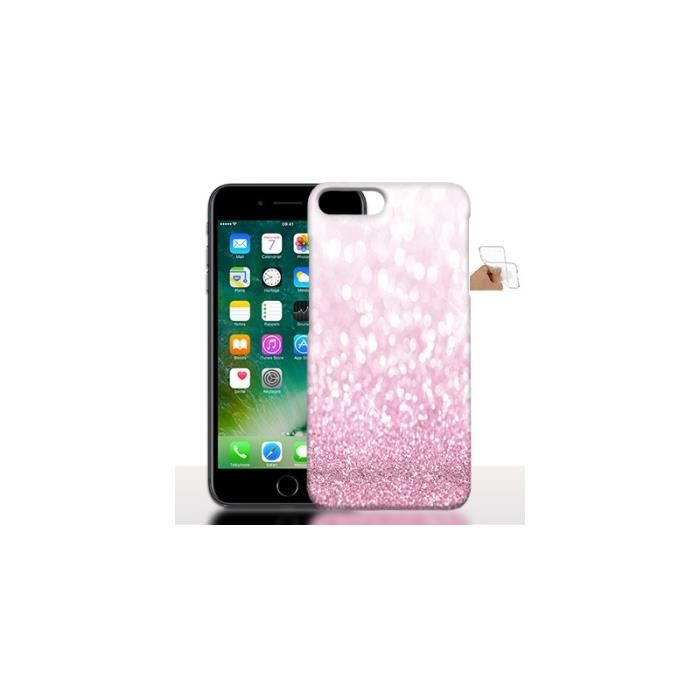 coque iphone 7 gel rose