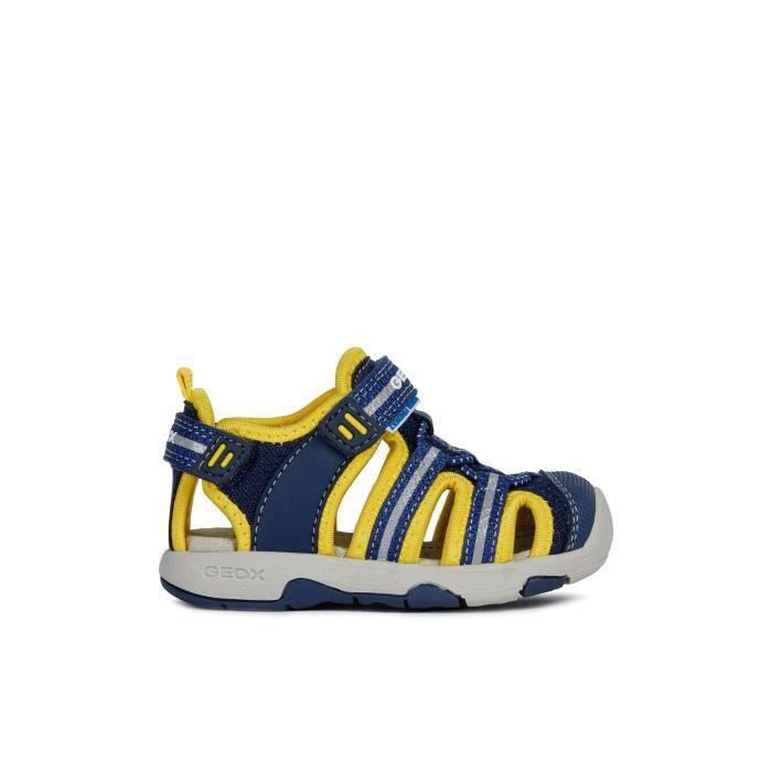 emitir es bonito Mil millones  GEOX Sandales Bleu Marine Jaune MULTY Bébé Garçon - Achat / Vente sandale -  nu-pieds - Cdiscount