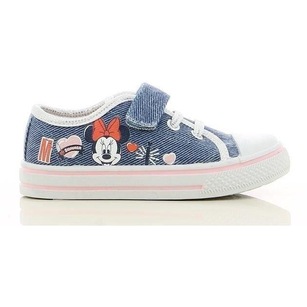 Rouges Tailles 22 /à 27 Chaussures de Toile Gar/çon Mickey Mouse Disney sans Lacets