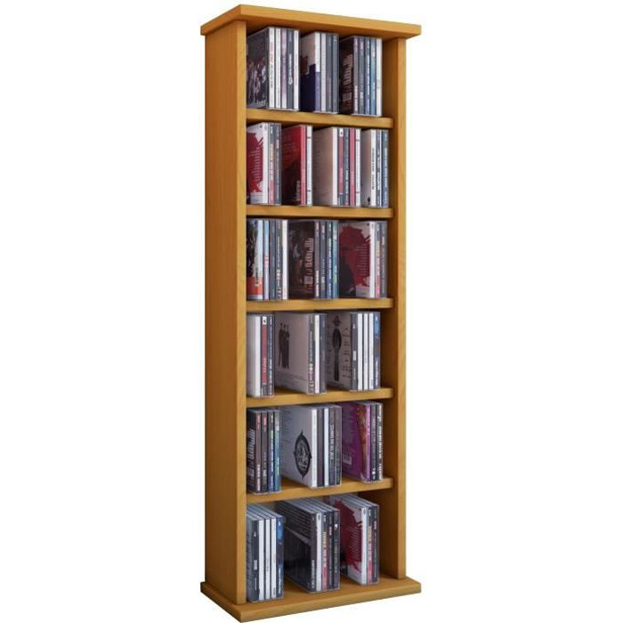 vostan tour rangement biblioth que cd dvd 150 cd noir sans portes vitr s achat vente. Black Bedroom Furniture Sets. Home Design Ideas