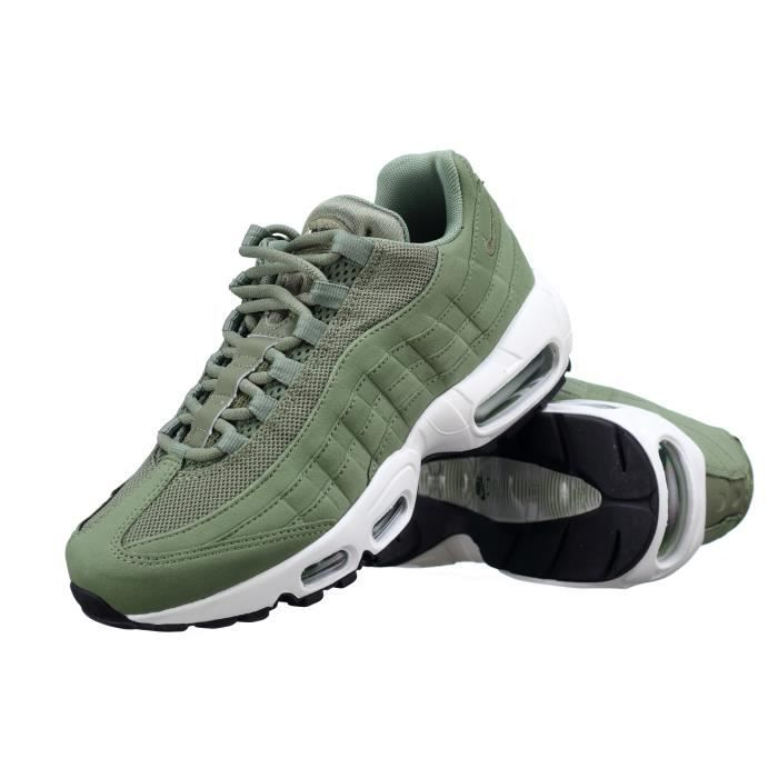 new images of the best attitude attractive price Basket Nike Wmns Air Max 95 307960 - 300 Kaki Vert - Achat ...