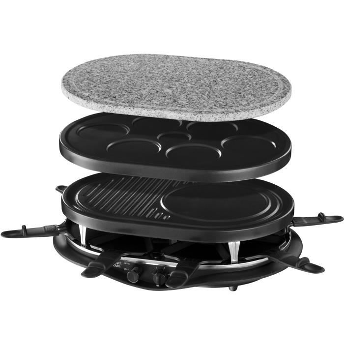 APPAREIL À RACLETTE Russell Hobbs 21000-56 Appareil Raclette Multifonc