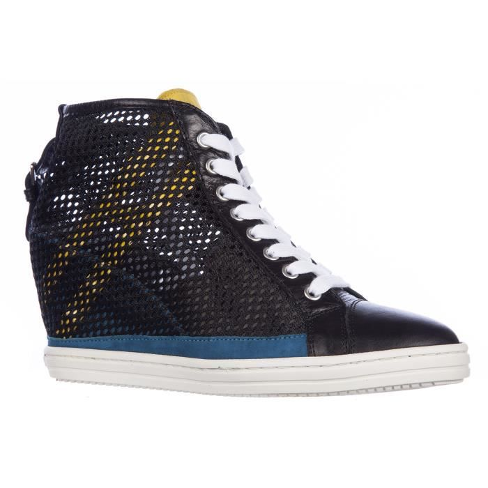 Chaussures baskets sneakers hautes femmerebel Hogan Rebel FUnDgMG