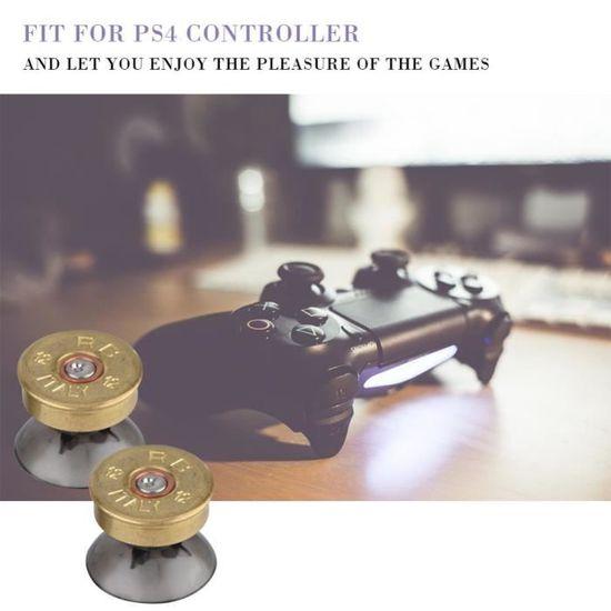 Set Boutons de Balle Touches Thumbstick Métal pour Manette Sony PS3//PS4