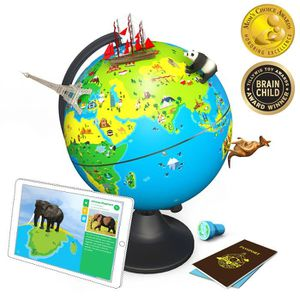 Gonflable Globe Ballon de plage détaillée monde 28 cm Childs enfants adultes Outdoor Fun