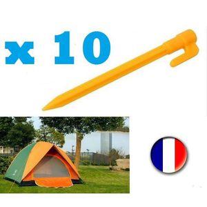 ACCESSOIRE DE TENTE 10 Sardines Pour Tente - De Camping
