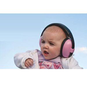 CASQUE ENFANT Casque anti-bruit bébé rose BANZ