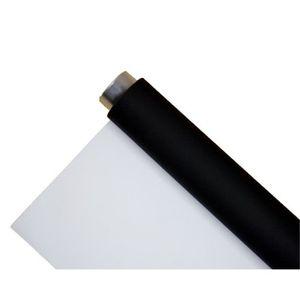 FOND DE STUDIO BRESSER Fond vinyle noir/blanc sur rouleau 2x6m