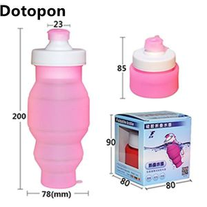 PIÈCE POUR FAIT-MAISON  Dotopon (Transparent Rose) Boire rétractable silic