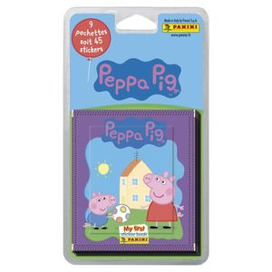 CARTE A COLLECTIONNER PEPPA PIG  Blister 9 pochettes