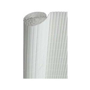 CLÔTURE - GRILLAGE Canisses double face couleur blanc 3 m x 1,80 m
