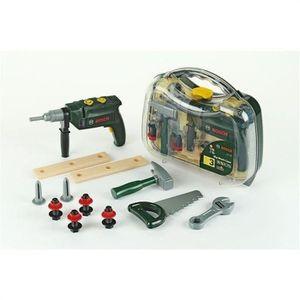 BRICOLAGE - ÉTABLI KLEIN - Mallette à outils Bosch avec perceuse élec