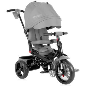 TRICYCLE Tricycle évolutif pour bébé / enfant JAGUAR Gris L