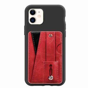 COQUE - BUMPER Coque iPhone 11,Rouge Denim Antichoc Souple Silico