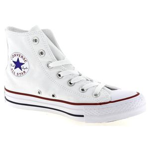 BASKET CONVERSE Basket Mixte All Star HI - Toile - Blanc