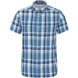 Fusion Checked Shirt pour Homme Homme à manches courtes Everyday Léger Poche Poitrine
