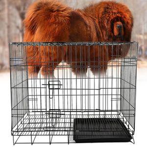 CAISSE DE TRANSPORT Caisse/cage de transport chien chat 100*63*70 plia