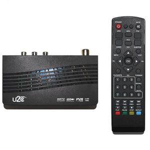 BOX MULTIMEDIA Smart TV BOX U2C DVB Bureau Récepteur Numérique-Wi