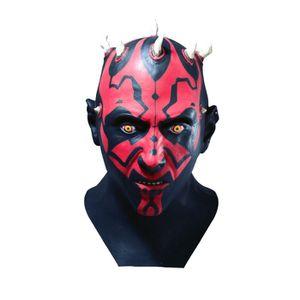 super qualité Ceinture Noir compatible avec Darth Maul déguisement