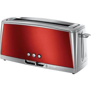 GRILLE-PAIN - TOASTER Russell hobbs - grille-pains 1 fentes 1420w rouge