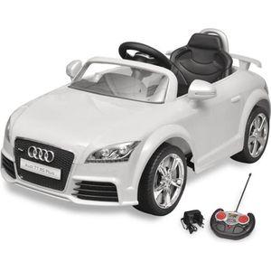 VOITURE ELECTRIQUE ENFANT Voiture électrique pour enfant Audi TT RS blanche