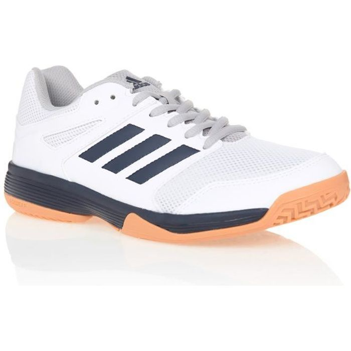 ADIDAS Chaussures de Tennis SPEEDCOURT - Homme - Blanc/Orange