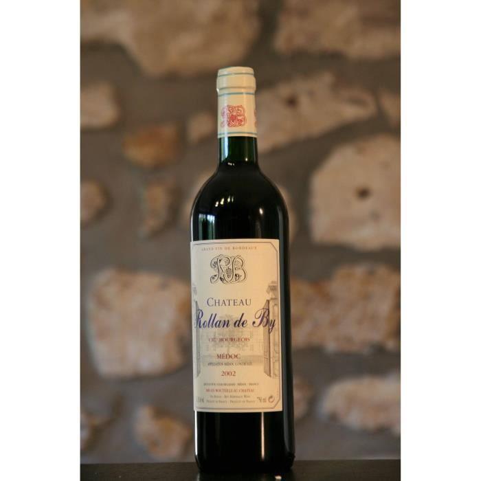 Vin rouge, Medoc, Château Rollan de By 2002 Rouge