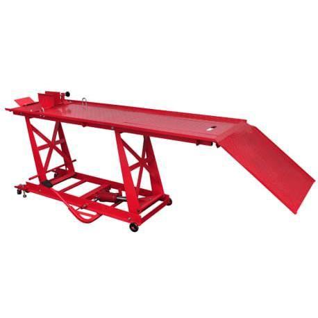 Yuehuuroom® Pont élévateur pour motos Plate-forme élévatrice pour motos Bloc de montage 450 kg