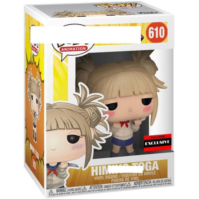 Figurines Pop! Vinyle: Animation:My Hero Academia - Himiko Toga