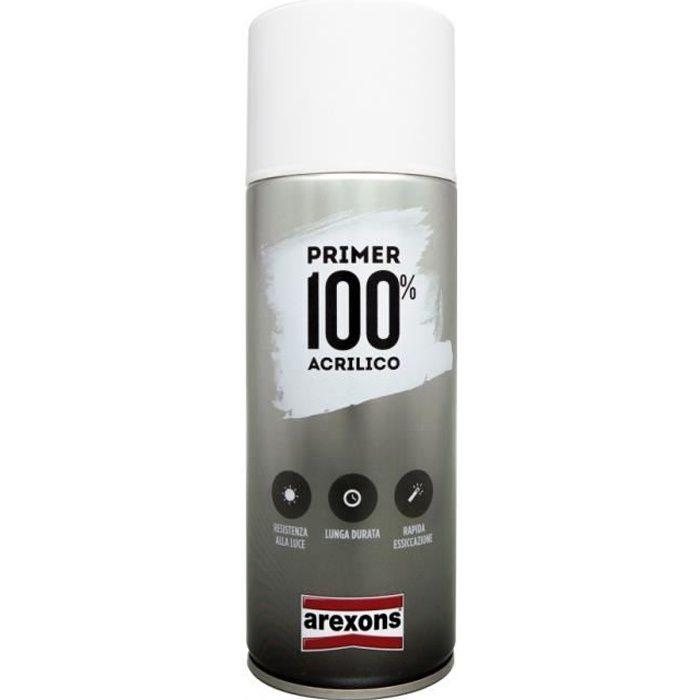 Bombe de peinture Arexons appret special plastique Transparent - 400ml