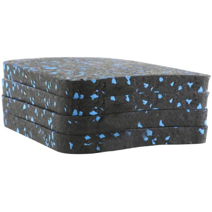 TAPIS DE COURSE Tapis de tapis roulant 4PCS, coussin d'isolation phonique, coussin de tapis roulant antid&eacuterapant, &eacute39