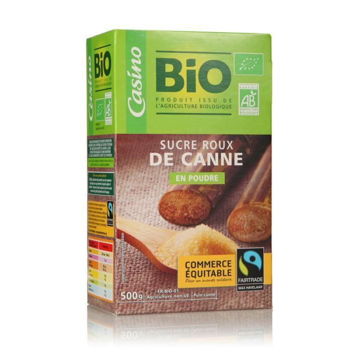 Sucre roux de Canne Bio 500g