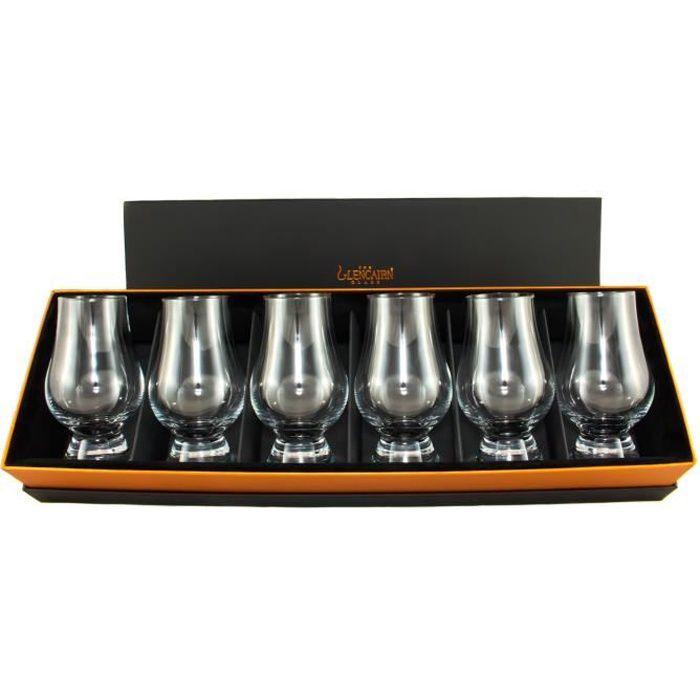 verre à whisky - Glencairn X6 - coffret prestige
