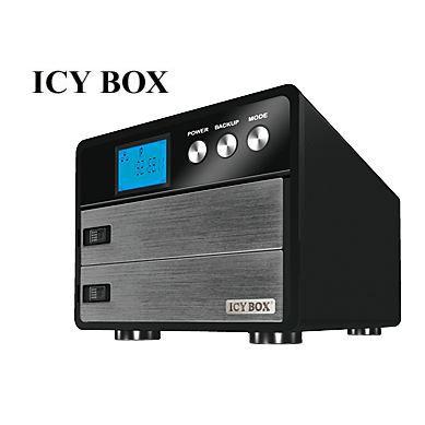 Icy Box Ib 555Ssk B Rack amovible pour 5 disq